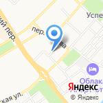 Адвокатский кабинет Базанова И.А. на карте Бийска
