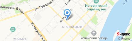 Нотариус Дубов Р.В. на карте Бийска