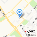 Газпромбанк на карте Бийска