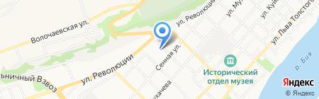 Бийский винодельческий завод на карте Бийска