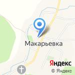 Макарьевская основная общеобразовательная школа на карте Бийска
