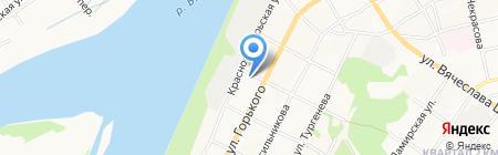 Ажур на карте Бийска