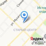 Детская музыкальная школа №1 на карте Бийска