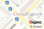 Схема проезда до компании Российские ткани в Бийске