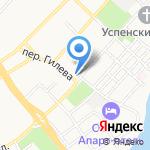 Алтайский колледж промышленных технологий и бизнеса на карте Бийска