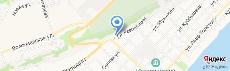 ВИКИНГ на карте Бийска