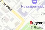 Схема проезда до компании Алтайский колледж промышленных технологий и бизнеса в Бийске