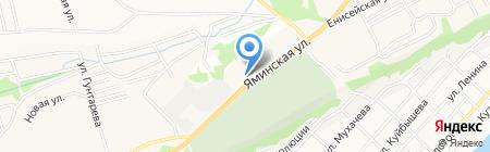 Семь на карте Бийска
