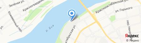 Техпрофиль на карте Бийска