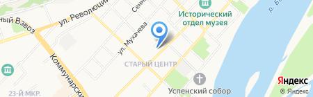 Лифтремонт на карте Бийска