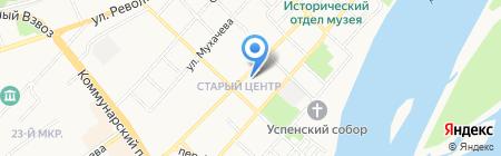 Гарантия-К на карте Бийска
