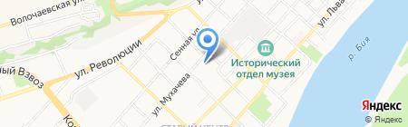 Общественная приемная депутата Государственной Думы РФ Заполева М.М. на карте Бийска