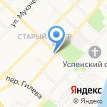 Центр содействия занятости и безопасности труда на карте Бийска