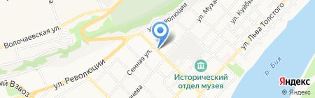 Союз на карте Бийска