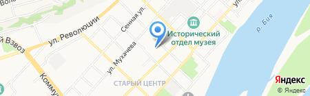 Профессиональное училище №3 на карте Бийска