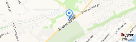 АЗС Матрикс Ойл на карте Бийска