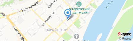 Даринка на карте Бийска