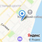 Отдел полиции Восточный на карте Бийска
