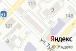 Схема проезда до компании Росток в Бийске