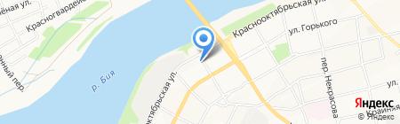 Компания по приему лома металлов на карте Бийска