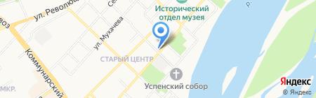 Ленинградский на карте Бийска