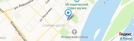 Банкомат Совкомбанк на карте Бийска