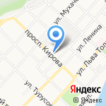 Корзинка Михайловых-2 на карте Бийска