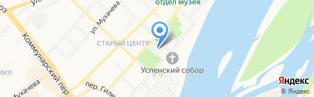 Нория на карте Бийска