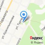 ДЮСШ №1 на карте Бийска