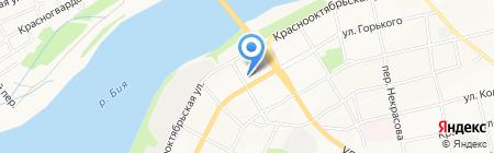 Раздолбай-Сервис на карте Бийска