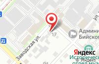 Схема проезда до компании Торгово-Производственный Комплекс Алтайвитамины в Бийске