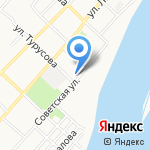 КАТУНЬ на карте Бийска