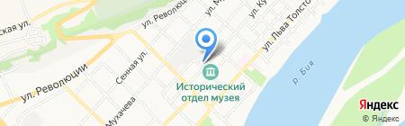 Архивный отдел Администрации Бийского района на карте Бийска