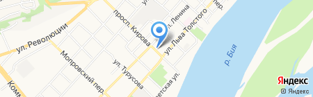 Алекс-К на карте Бийска