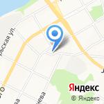 Сороковой на карте Бийска