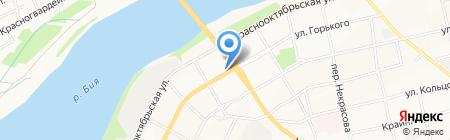 Домашний очаг на карте Бийска