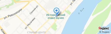 Городской онкологический диспансер на карте Бийска