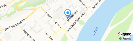 Библиотека на карте Бийска