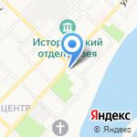 Старый город на карте Бийска