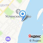 Союз десантников и войск специального назначения на карте Бийска