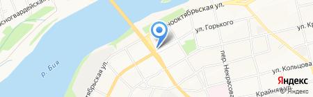 ГорТоп на карте Бийска