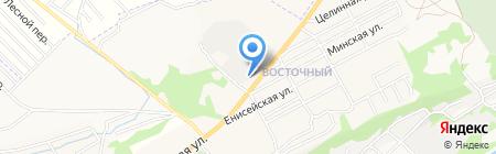 ДСУ-1 на карте Бийска