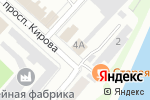Схема проезда до компании Карамболь в Бийске
