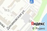 Схема проезда до компании ТАКТИКА в Бийске