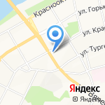Почтовое отделение №1 на карте Бийска