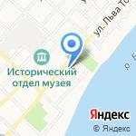 Алтай-Ойл на карте Бийска