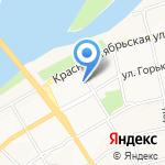 ГИБДД г. Бийска на карте Бийска