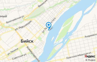 Местоположение на карте пункта техосмотра по адресу Алтайский край, г Бийск, пр-кт Сергея Кирова, д 2