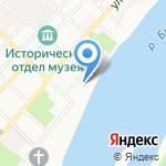 Алтайские сувениры на карте Бийска