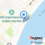 Часовня новомучеников и исповедников Российских на карте Бийска